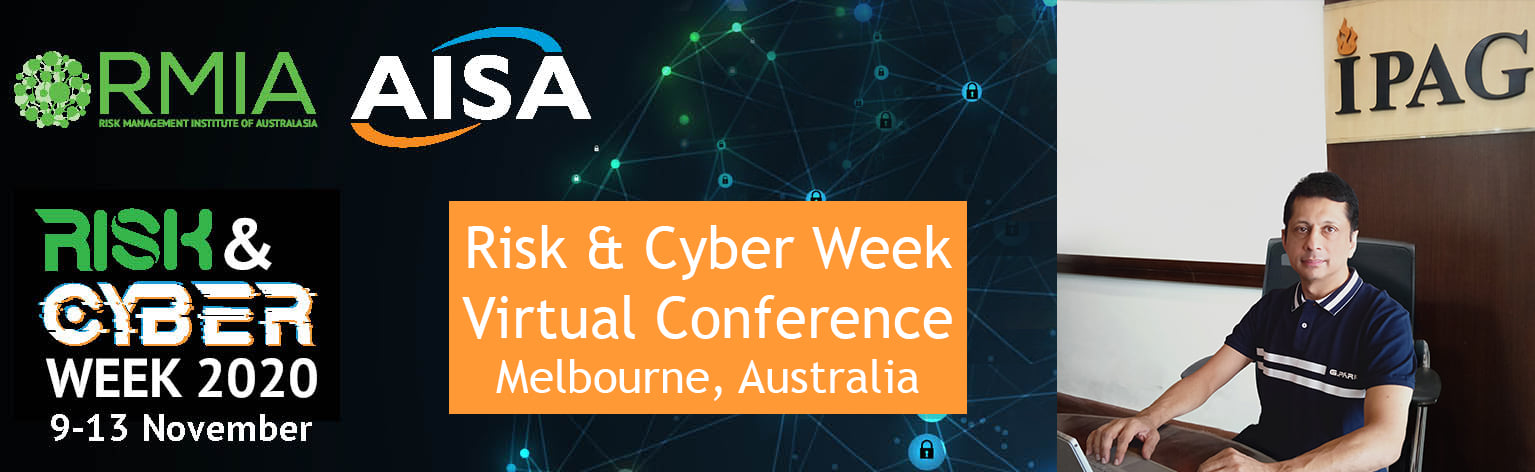 Australia's Annual Risk Management and Cyber Security Conference in Melbourne, Australia