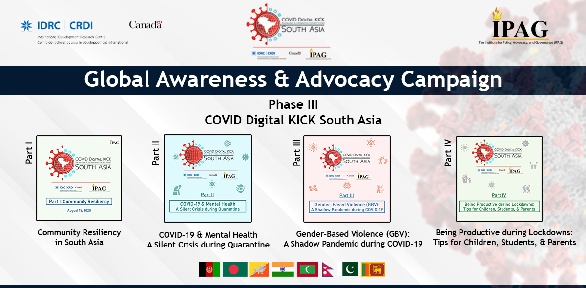 PHASE III: COVID Digital KICK for South Asia