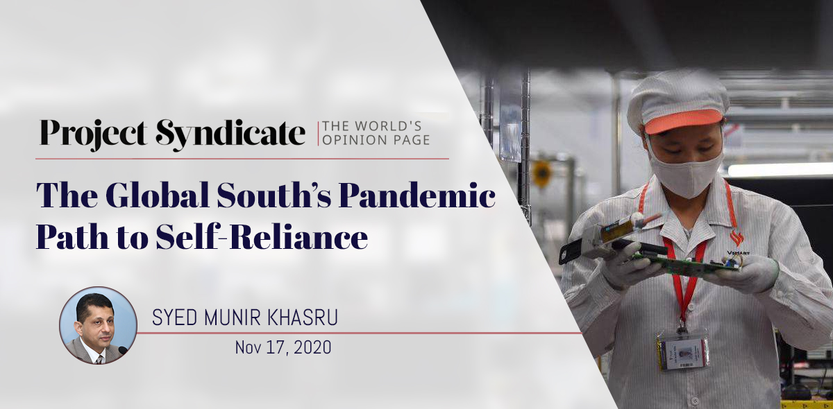 The Global South's Pandemic Path to Self-Reliance