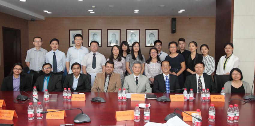 Seminar on the 40-year Anniversary of the Establishment of Formal Diplomatic Relations between China and Bangladesh