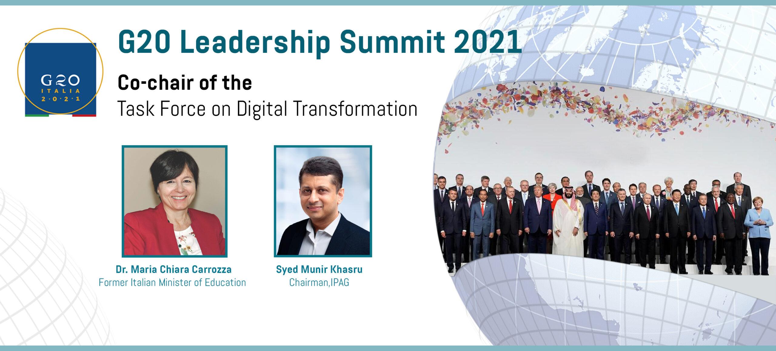 G20 Leadership Summit 2021