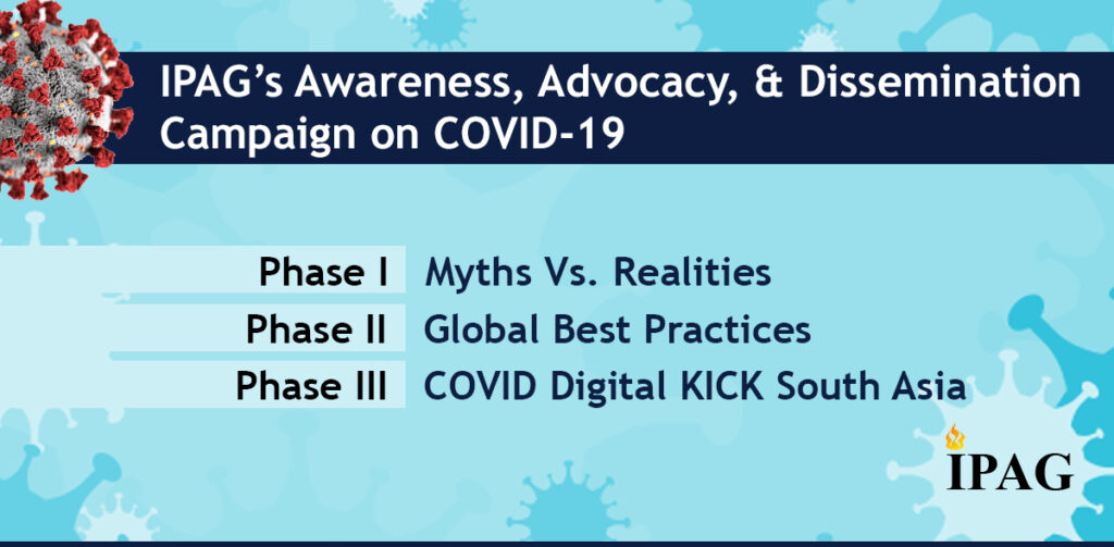 IPAG's Awareness, Advocacy, & Dissemination Campaign on COVID-19