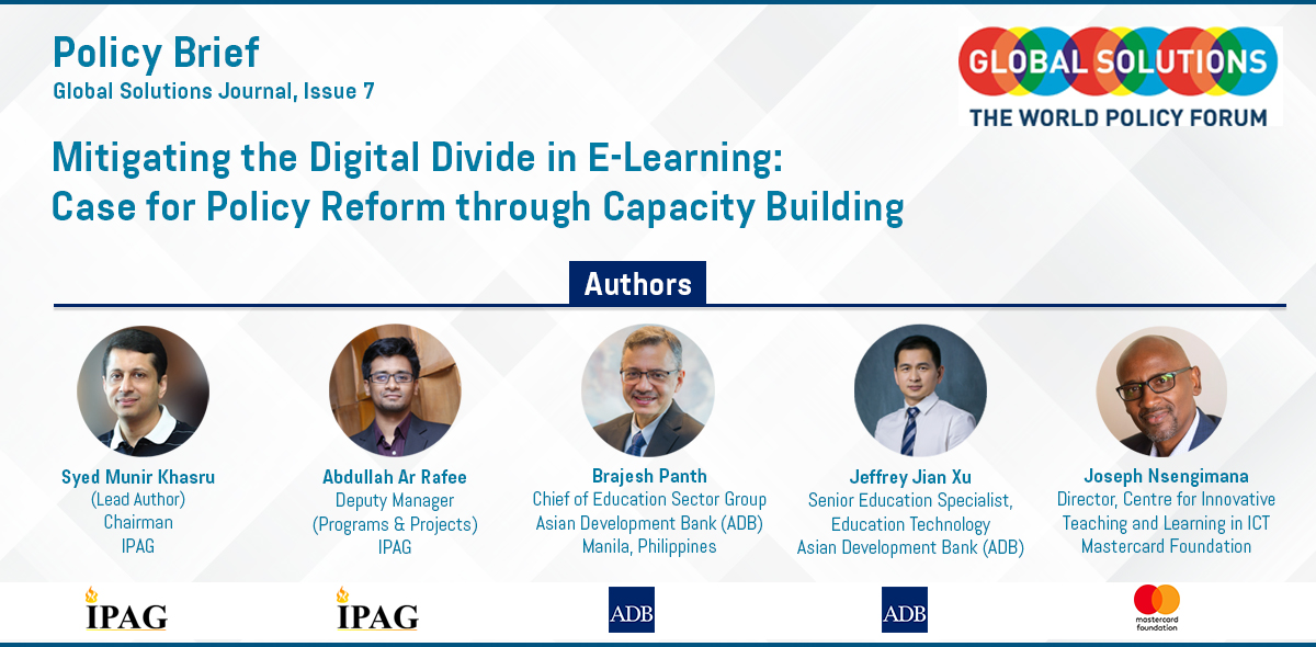 Mitigating the digital divide in e-learning
