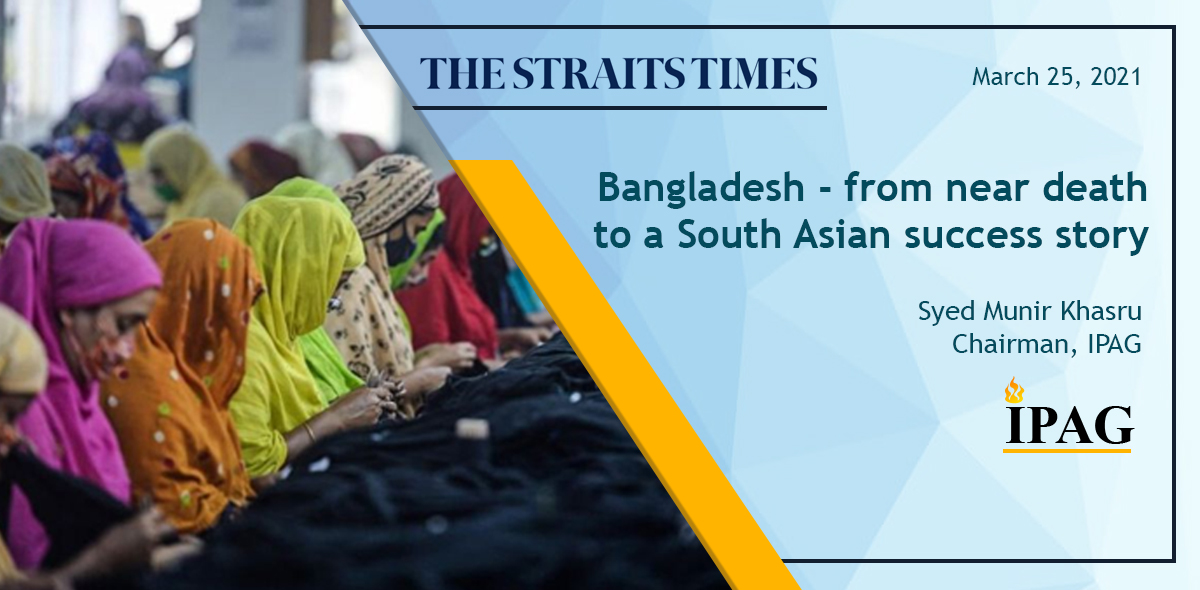 Bangladesh - from near death to a South Asian success story