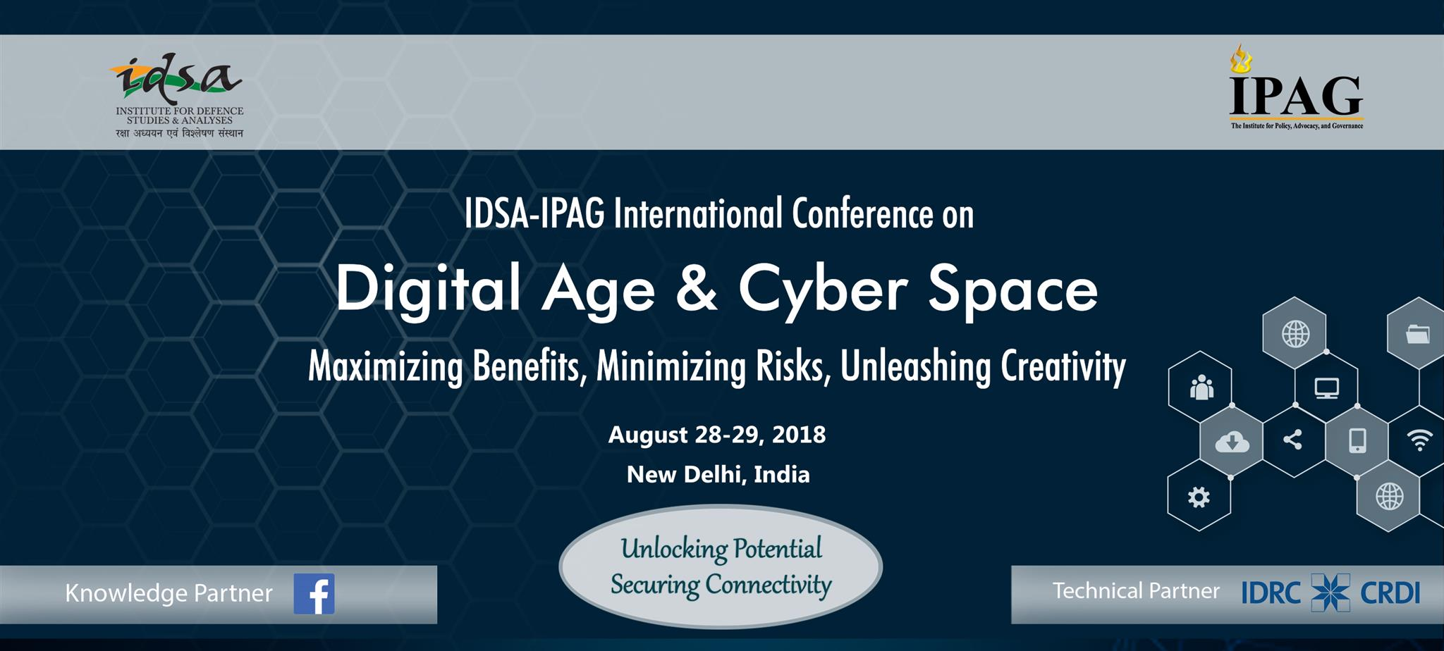 Digital Age & Cyber Space: Maximizing Benefits , Minimizing Risks, Unleashing Creativity