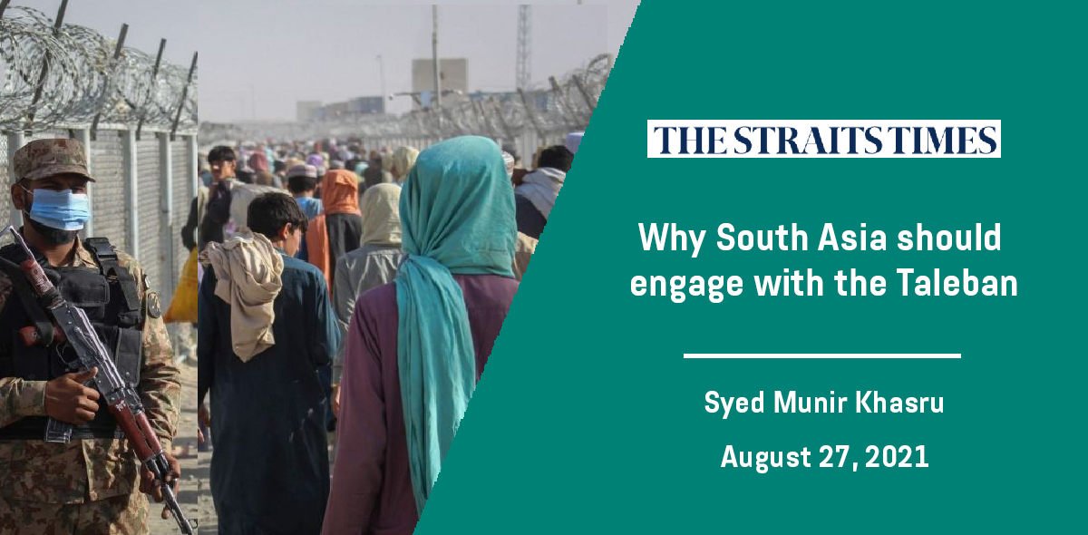 Why South Asia should engage with the Taleban
