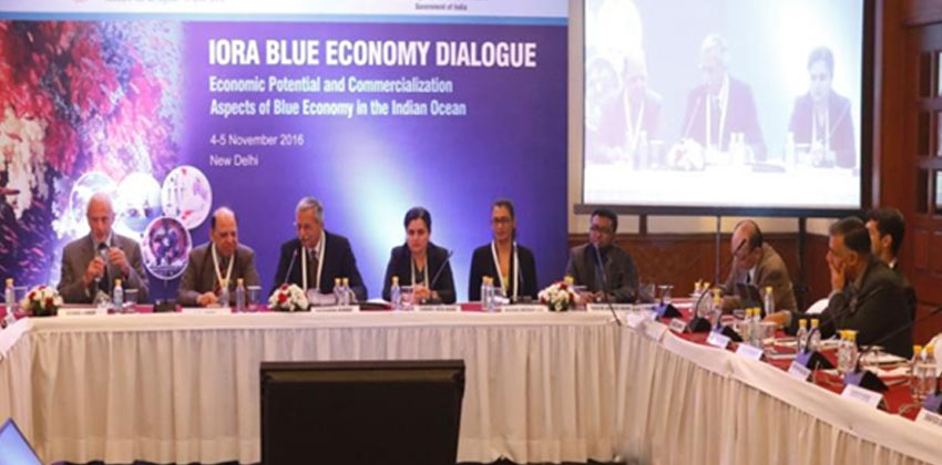 IORA Blue Economy Dialogue Economic Potential and Commercialization  Aspects of Blue Economy in the Indian Ocean