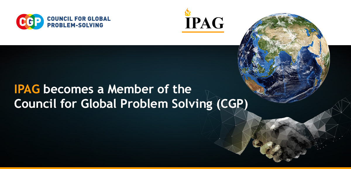 IPAG joins the Council for Global Problem Solving (CGP)